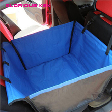 GLORIOUS KEK Back Single-seated Dog Car Seat Cover Waterproof Single Dog Car Seat Protector Stain-resistant&Abrasion-resistant(China)