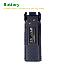 Baofeng BL-8 2800mAh Intercom Battery for UV 82 walkie talkie powerful long standby UV-82 UV-8D UV-89 UV-8 Two Way Radio battery