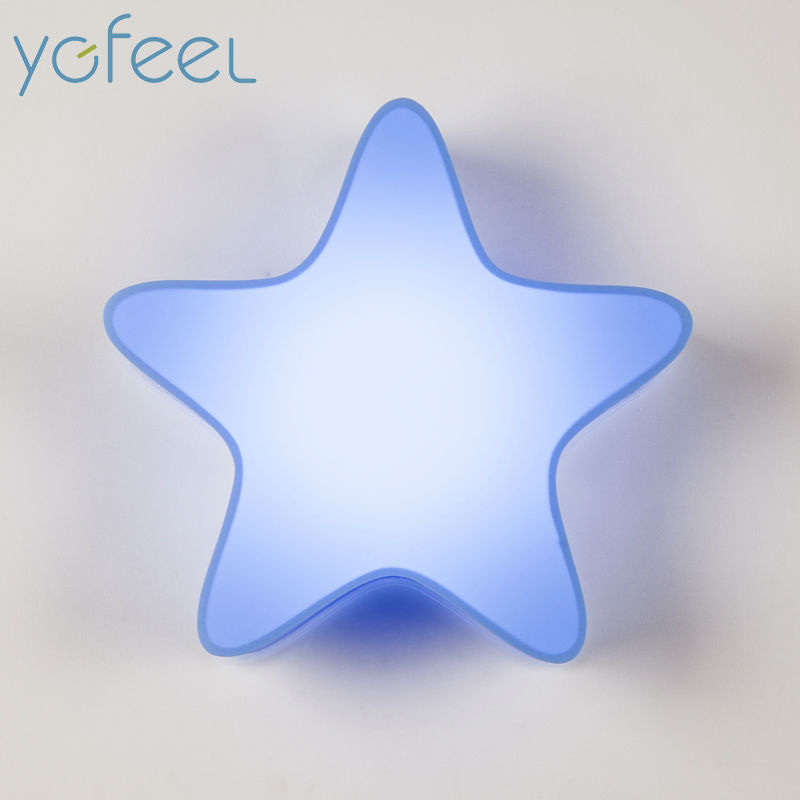 LED Modern Wall Lamps Children Baby Kids Bedroom Bedside Lamp Cartoon Little Star Shape 90-260V Originality Novelty Light<br><br>Aliexpress