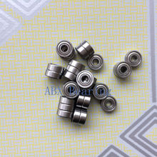 Free shipping 10pcs MR52ZZ L-520ZZ MR52 deep groove ball bearing 2x5x2.5mm miniature bearing ABEC3