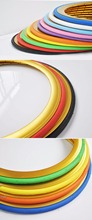 24*13/8 inch bicycle tire fix gear bike tires,  700C Bike Tire for 23C of Green/blue/red colors