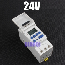 DIGITAL PROGRAMMABLE Timer TIME RELAY Microcomputer Electronic Digital TIMER SWITCH Relay Control 24V Din Rail Mount tp8a16
