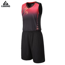 Buy Men Women Basketball Jersey Sets Uniforms Breathable throwback basketball jerseys Sports Shirts Shorts $1.8 printing custom draw for $14.53 in AliExpress store