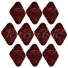 Electric Guitar Cavity Cover Back Plate Backplate for Gibson Les Paul Parts Tortoise Shell ABS Pack of 10