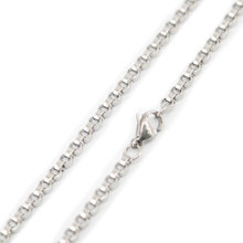 10pcs super lowest price 24inch 3.2*1.4mm Silver Stainless Steel necklace round Chains for women men(China)