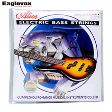 Electric Bass Strings Steel Core Nickel Alloy Wound 4 Strings Alice A606
