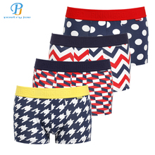 Buy PINK HEROES 4pcs / lot Men Underwear Boxers Fashion Print Cotton Underwear Men Boxer Sexy Striped Cartoon Men Shorts Boxers for $13.34 in AliExpress store