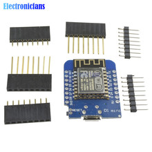 ESP8266 ESP-12 USB For WeMos D1 Mini WIFI Development Board D1 Mini NodeMCU Lua IOT Board Based On ESP-8266EX 11 Digital Pins(China)