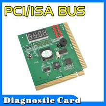 2015 New Arrive PCI & ISA Motherboard Tester Diagnostics Display 4-Digit PC Computer Mother Board Debug Post Card Analyzer