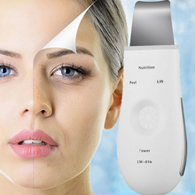 Ultrasound 18000 Times Per Second EMS Vibration Radio Frequency Cleaning Facial Skin Blackhead Powder Peeling Horny Beauty Tool