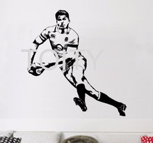 Owen Farrel Rugby Wall Sticker English Rugby Union Player Vinyl Decal Home Living Room Sport Art Decor Dorm Club Bar Giant Mural