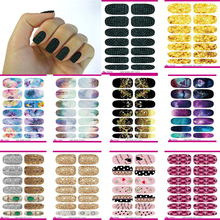 10pcs Set New Water Transfer Nail Sticker Foil Merry Christmas Fantacy Lights Halo Stars Nail Art Wraps Manicure Sticker Decals