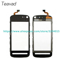 "10pcs/lot High Quality 3.2"" For Nokia 5800 N5800 Touch Screen Digitizer Sensor Outer Glass Lens Panel free shipping(China)"