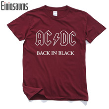 New AC/DC band rock T Shirt Mens acdc T-shirts Print Casual Tshirt Plus Size O Neck Hip Hop Short Sleeve XS-2XL