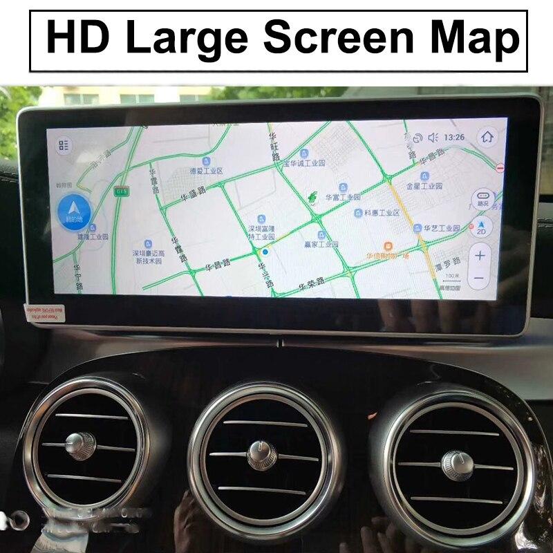 Liislee Car Multimedia Player NAVI For Mercedes-Benz MB GLC Class X253 C253 2015~ 2018 Car Radio Stereo GPS Navigation (2)