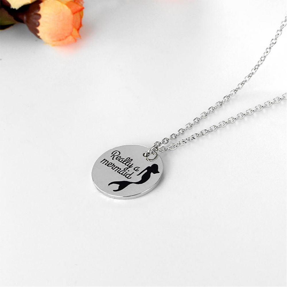 Really a Mermaid Pendant Necklace