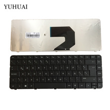 New Laptop keyboard for HP Pavilion G4 G4-1000 G6 G6-1000 Presario CQ43 CQ57 430 630 Black  LA Spanish  698694-161 646125-161