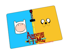 Adventure Time mouse pad  HD print Finn game pad to mouse notebook computer mouse mat brand gaming mousepad gamer laptop