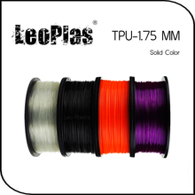 Worldwide Fast Delivery Direct Manufacturer 3D Printer Material 1kg 2.2lb Soft 1.75mm Flexible TPU Filament(China)