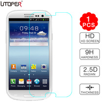 "For Galaxy S3 Tempered Glass Screen Protector for Samsung Galaxy S3 SIII I9300 Duos i9300i Neo i9301 4.8"" Explosion-Proof Guard(China)"
