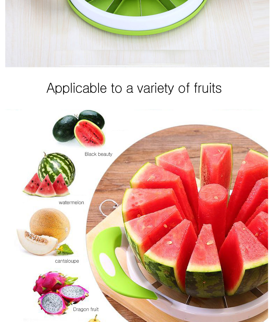 Watermelon Artifact Cut Fruit Split Function Cut Watermelon Melon Slice Cutter Convenient Kitchen Cooking Cutting Tools Cutter (7)