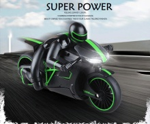 Cool remote control car 2.4g charge remote control electric motorcycle belt super large thepole speed remote control toy car