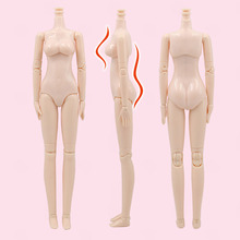 DIY Nude Doll BJD Joint Body 23cm WHITE Skin Articulated Body for 1/6 Doll Accessory Action Figures