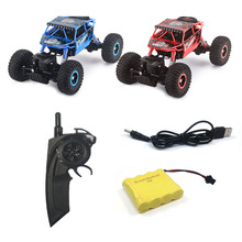 New 2.4G climbing 4-wheel drive off-road remote control mountain climbing car Bigfoot off-road model children's toy