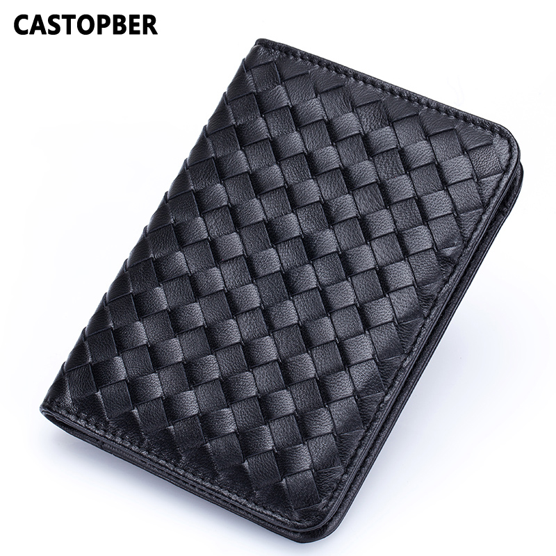 Designer Passport Organizer Case Travel Genuine Leather Sheepskin Card Holder Business Mens Cover Bag Wallet High Quality Purse<br>