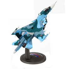 New 1/72 Scale Fighter Model Toys Russia SU-34 (SU34) Flanker Combat Aircraft Diecast Metal Plane Model For Baby Toy