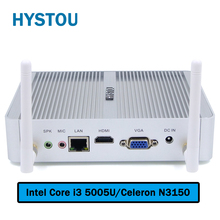 Fanless Mini PC Windows 10 Nano Station PC i3 5005u Barebone System Nuc Mini HDMI Computer Core i3 HTPC Kodi Linux Computer Mini