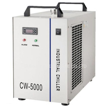 Free Ship CW-5000AG Industrial Water Chiller for 80/100W CO2 CNC Laser Tube 220V,50Hz