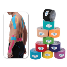 5m x 5cm Kinesiology Tape Waterproof Elastic Physio Therapy Muscle Tape Sports Safety Tape Bandage Strain Injury Support