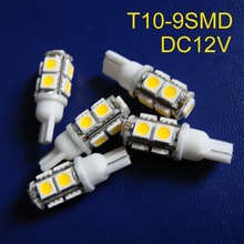 High quality 12V T10 w5w 194 168 led signal lights,car led clearance lights free shipping 20pcs/lot(China)