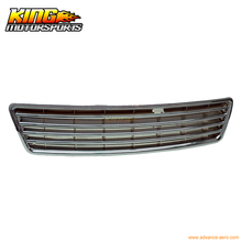 For 98 99 00 01 Audi A6 C5 Chrome Front Hood Grille Grill Global Free Shipping Worldwide