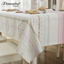 Zhuimenglong Pastoral Round Table Cloth Plastic Table Cover Flowers Printed tablecloth Waterproof Home Party Wedding Decoration