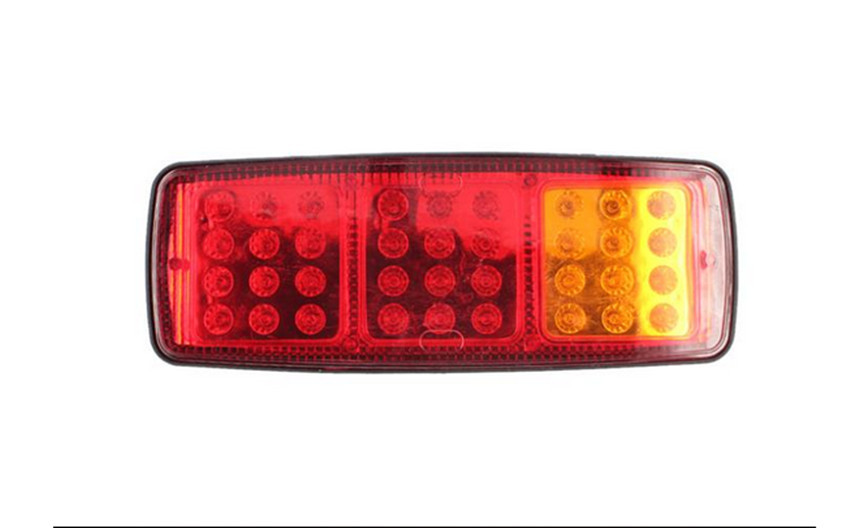 2 Pcs 24V Car LED Tail Light 36 LED Auto Rear Light Tail lights<br><br>Aliexpress