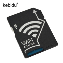 Kebidu Wireless Micro SD MicroSD TF SDHC Flash Card Converter Transfer Wifi Adapter for iOS for Android Device for Camera