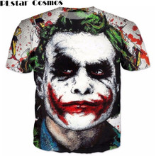 Buy PLstar Cosmos T-Shirts Batman Joker DC Comics Superhero 3D Print T-Shirt Women Men Summer Style t shirt for $9.74 in AliExpress store