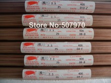 Ziyang Copper Electrode Tube Single Hole 2.3*400mm  for EDM Drilling Machine