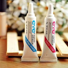 Eyelash Adhesive Glue Waterproof Black and White Fashion Makeup Tools Hot For 2017(China)