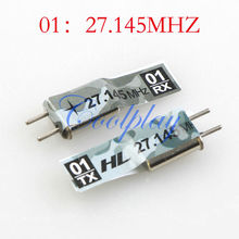 Coolplay original 01/02/03/04 27.145/27.195/27.095/27.550MHZ crystals for 1/16 RC tanks,spare parts, accessory only for HengLong