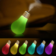 New Qualified Lamp Humidifier Home Aroma LED Humidifier Air Diffuser Purifier Atomizer  Levert Dropship dig699