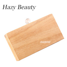 Hazy beauty good quality vintage design wood looking women evening bag pure color high chic new fashion girls purse hot A215(China)