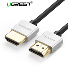 Ugreen Metal HDMI Cable 2.0 High Speed HDMI to HDMI Cable Connector 0.5M 1M 1.5M HDMI 2.0 4K 1080P 3D for PS3 projector Apple TV(China)