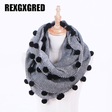 2017 New Fshion  Autumn Winter Women Wool Collar Neck Warmer Crochet Ring Scarf For women