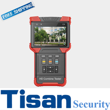 High perfomance AHD HD TVI IP CVBS Analog in one CCTV Tester cctv test monitor