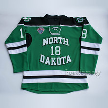 Kowell North Dakota Fighting Sioux #18 drew stafford Stitched Hockey Jersey(China)