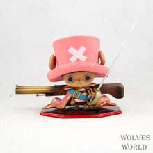 4Parts / sets super lovely chopper anime one piece model garage kit pvc action figure classic collection toy doll(China)