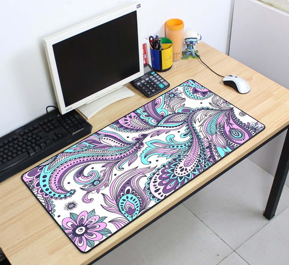 Custom Large mouse pad 700x400mm speed Keyboards Mat Rubber Gaming mousepad Desk Mat for game player Desktop PC Computer Laptop 6